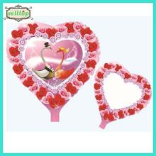 "Hot sell 18"" heart shape balloons foil balloons"