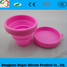 SILICONE TRAVEL DOG BOWL collapsible water food dish- 3 CUP ASSORTED