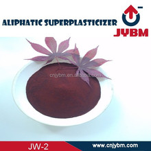 Chemical agent Aliphatic superplasticizer Concrete admixture