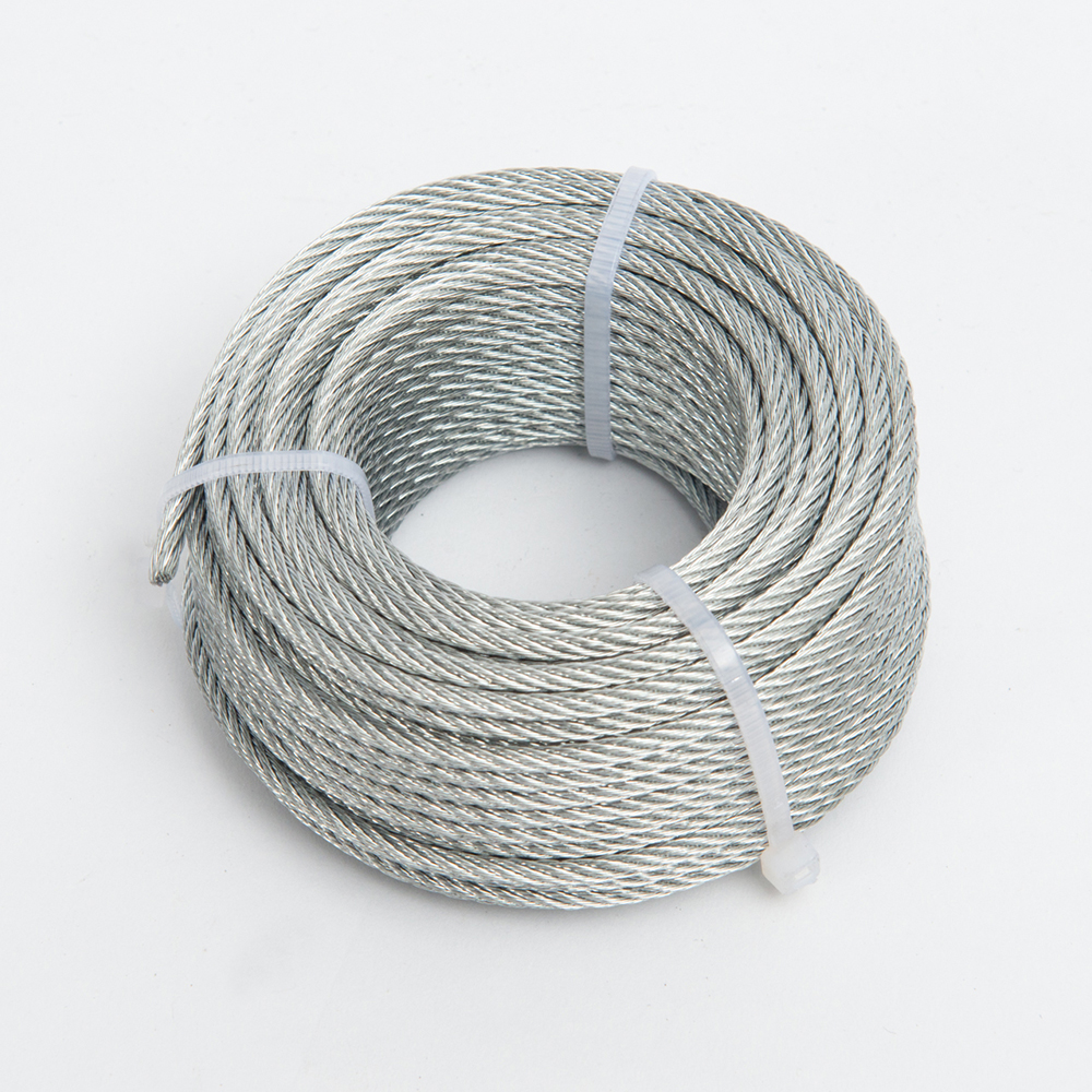 6x19 10mm Galvanized Steel Wire Rope For Construction - Buy 6x19 ...