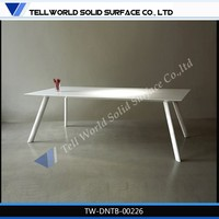 Stainless Steel Frame Folding Dining Table /Coffee Table Chrome