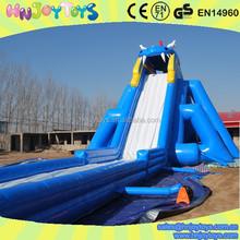 Beach party giant slip and slide, slip n slide for adult, inflatable slip and slide