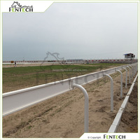 FenTECH Brand plastic PVC Horse Racing Fence