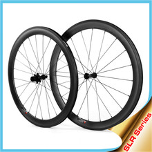 Carbon Bike Wheels Carbon Clincher, LIGHTCARBON 2015 Latest Carbon Wheelset with Ceramic Bearing Hubs In