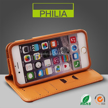High quality leather cell phone case