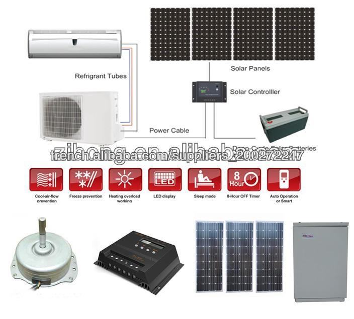 fournir 48v dc 100 climatiseur solaire climatisation id du produit 500002144175. Black Bedroom Furniture Sets. Home Design Ideas