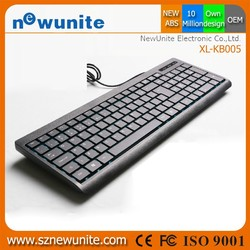 Ultra Slim Detachable keyboard manufacturer for iPad Air 2, coloured computer keyboard