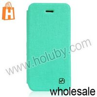 HOCO Star Series Linen Pattern for iPhone5S Leather Case