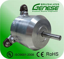 Energy efficiency high voltage range hood brushless motor