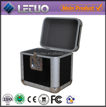 Aluminum hot new products for 2015 1000 cd dvd aluminum storage case custom musical instrument cases To Fit 80 CD's