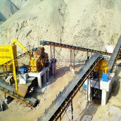 Stable performance conveyor line for sand making line