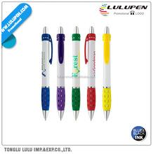 White Oval Grip Promotional Pen (Lu-Q97315)