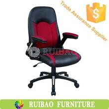 ucuz fiyat ofis mobilya Kolçaklı örgü ve deri ofis koltuğu