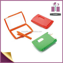 Notebook With Pen Mirror Card Holder Waterproof Promotional Notebook