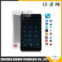 7 inch capacitive touch 3g tablet with sim card