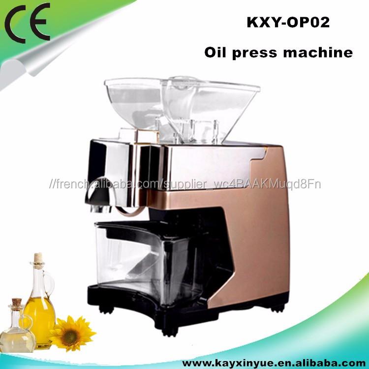 LCD affichage extracteur d'huile/huile de sésame extraction machine