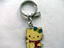 fashion lovely kitty keychain manufacturer wholesale 2012