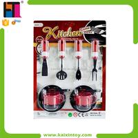 Role Play Educational Toy Mini Plastic Kitchen Set