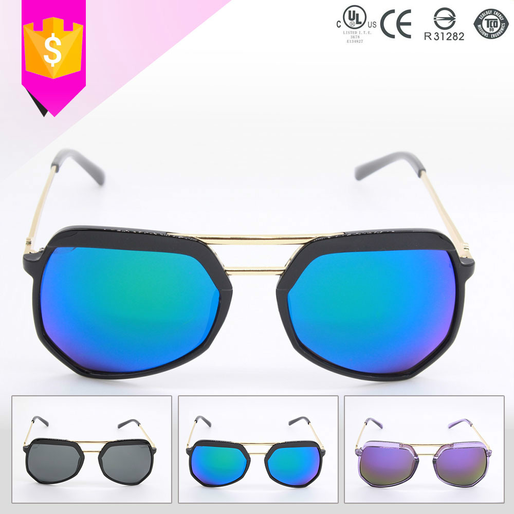 Glasses Frame Discoloration : wholesale discoloration round frame woman vintage sun glasses