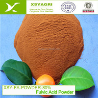 High Quality 80% Fulvic Acid Powder Organic Fertilizer