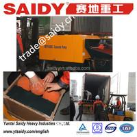 Pump concrete Small output 15m3/h HBT15-08SC concrete trailer pump