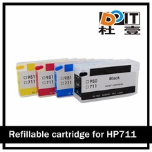 refill ink cartridges for HP 711 for HP711 for T120 T520