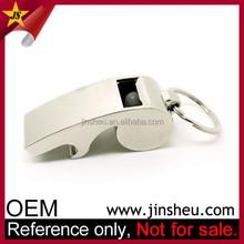 Promotional Multi Function Bottle Opener Cheap Custom Engraving Metal Whistle