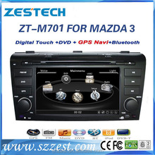 hot CAR ELECTRONIC touch screen car gps for MAZDA 3 2004-2009 with factory