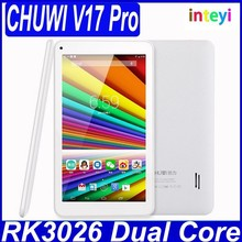 Original 7 inch CHUWI V17 Pro X2 Tablet PC Android 4.2 RK3026 Dual Core 512MB 8GB Good Camera 0.3MP 1024x600px Capacitive Screen