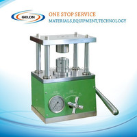 Compact Hydraulic Crimping Machine: One for All Button Cells of CR2016, CR2025, & CR2032 (Optional Die CR2325 or CR2450,AG3, AG5