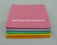 Needle punched nonwoven super absorbent furniture cleaning cloth, furniture wiping cloth