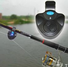 Electronic LED Light Fish Bite Sound Alarm Bell Clip On Fishing Rod / fishing pole Electronic alarm