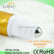HOT!!!Portable personal massager vibration Anti-wrinkle eye Pen with 360 degree rotation