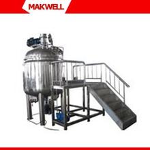 La fabricación de jabón, jabón líquido que hace la máquina, máquinas para la fabricación de jabón