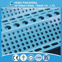 perforated metal mesh perforated metal aluminum mesh speaker grille 1mm hole galvanized perforated metal mesh