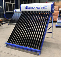200L rooftop stainless steel compact non-pressure solar water heater
