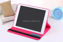 DIHAO 360 Degree Pu Leather Rotate Case For ipad 2/3/4/5/6/mini with removable leather cover