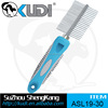 Pet grooming products stainless steel pin hair comb