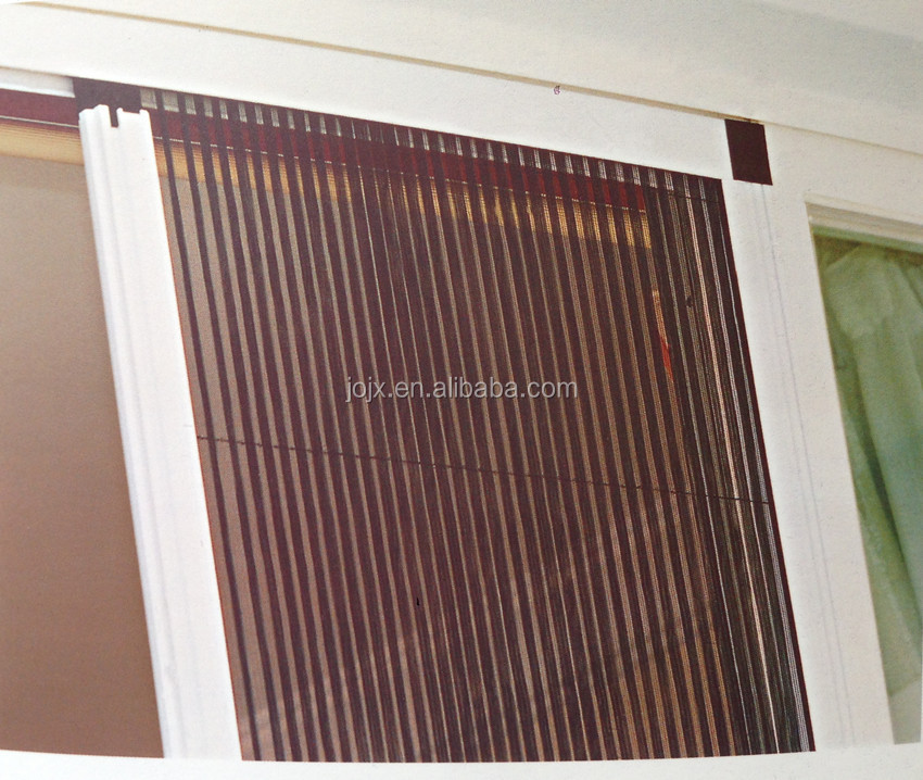 Popular retractable interior screen door easy to install for Interior retractable screen door