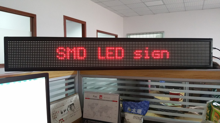 Double LED sign (3)
