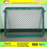 chain link fence for stairs / used chain link fence for sale factory / galvanized used chain link fence for sale