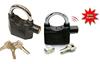 Smart alarm padlock/siren padlock/alarm lock