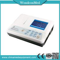 Durable OEM color digital ecg machine 3 channel