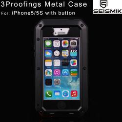 Hotsale Wholesale Metal Waterproof Phone Case for iPhone 5