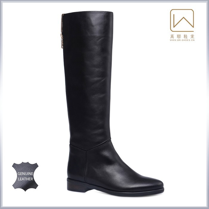 genuine leather s boots winter autumn boot black
