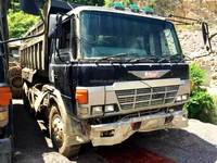 used right hand driving dump truck 6x4, japan dump truck