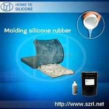 Liquid rtv2 mold making gypsum board,concrete,gypsum statues