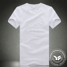 washed new style 100% organic cotton knitted t shirt & short sleeve tee