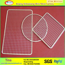 disposable bbq grill wire mesh, stainless steel barbecue wire mesh for roast