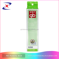 clear plastic boxes for cosmetics and electronics packaging